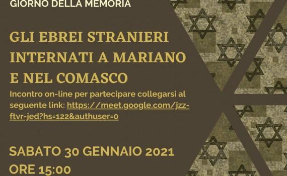 GIORNO DELLA MEMEORIA  Mariano
